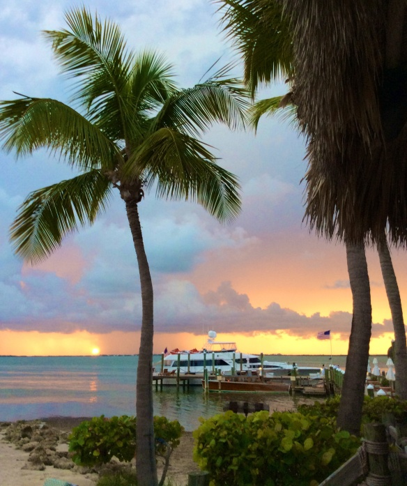 Sunsets from the Keys are dynamite!