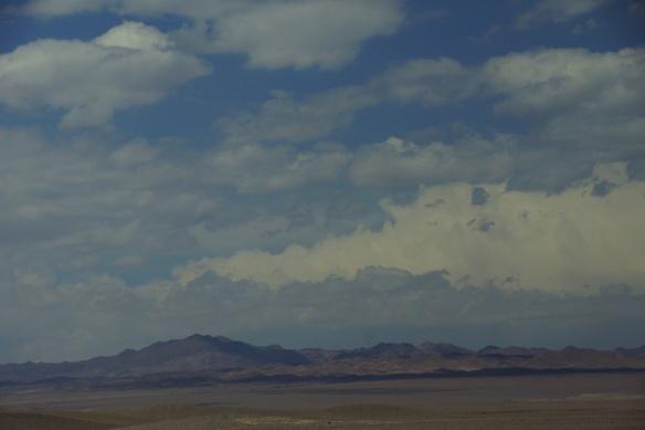 Driving to Atacama Desert