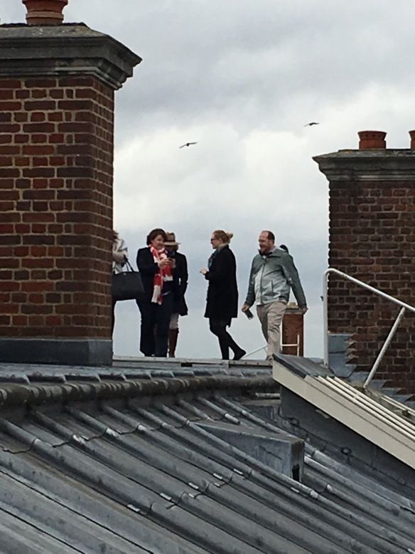 Rooftop of Hampton Court