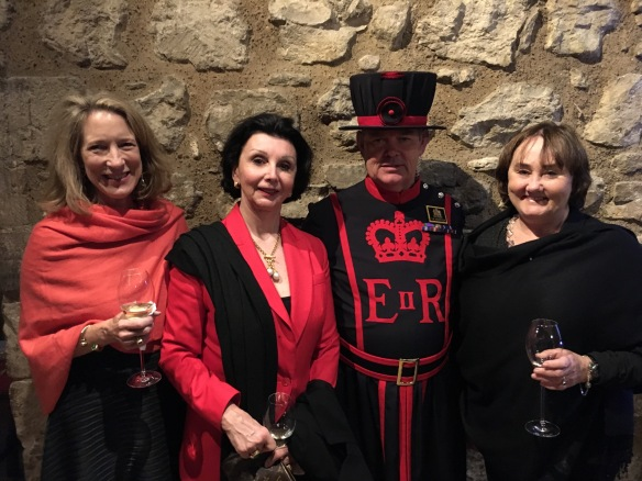 Tower of London Dinner