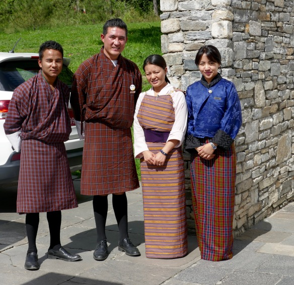 Incredible Staff at Amankora Thimpu