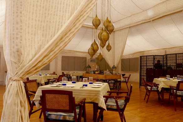 Dining room - Chamba Camp