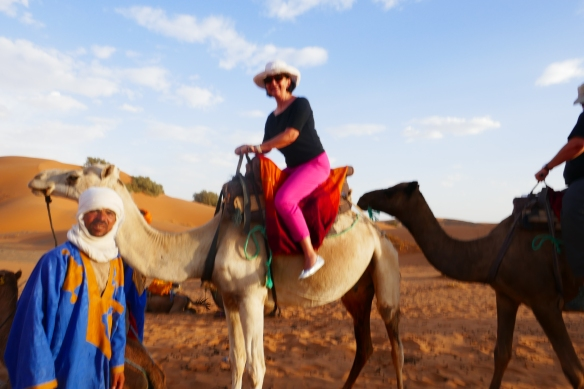 I can check camel riding off my list