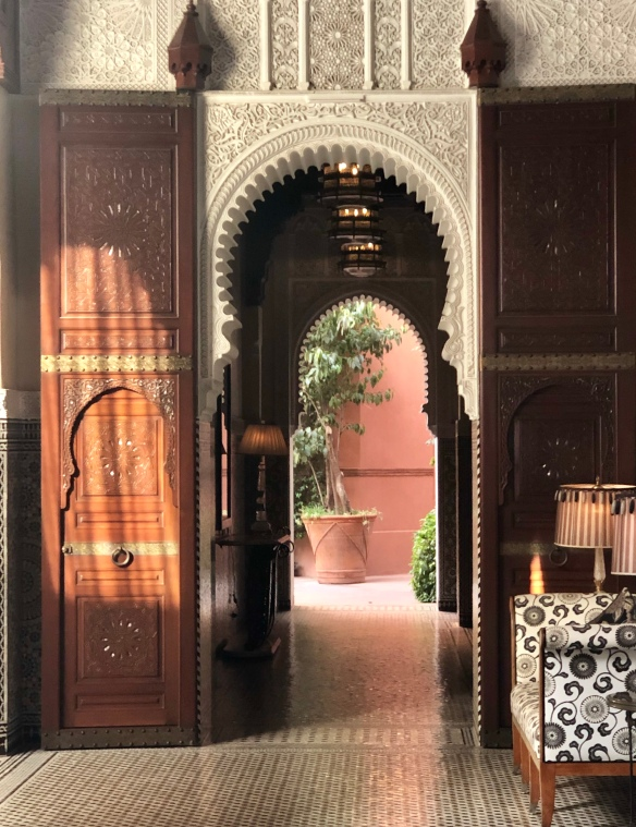 Doorway Royal Mansour Marrakech