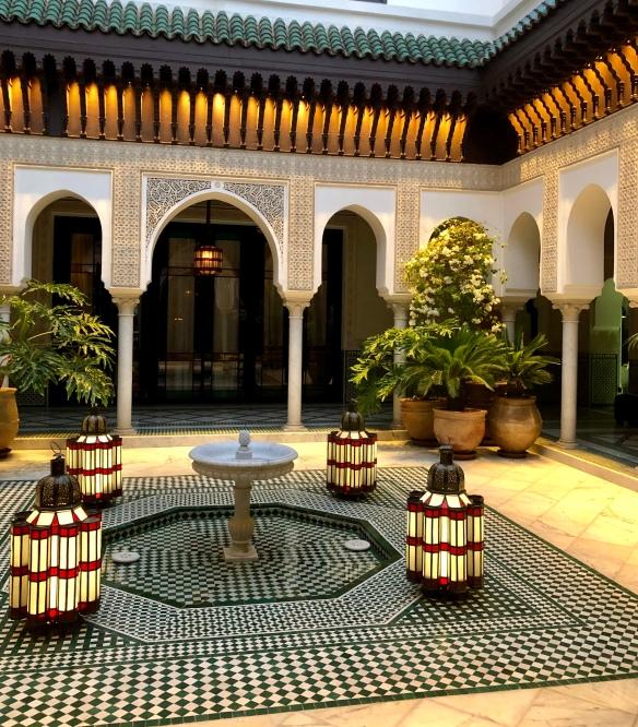 Courtyard La Mamounia